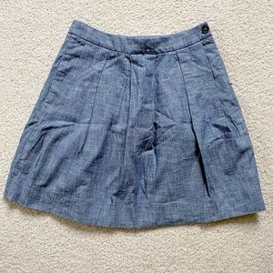 Brooks Brothers Chambray Skirt